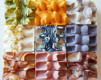 Nature Saponified Luxury Irish **SOAP SAVER** any 4 bars for 25.00 euro