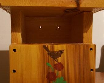 Carolina wren nesting box
