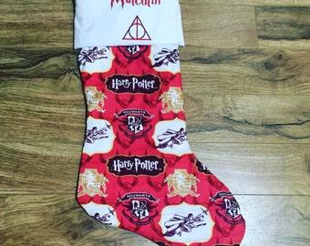 Harry Potter Stocking  / Custom Stocking / Any Style Avaliable