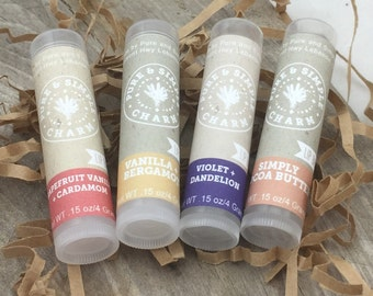 Lip Balm Gift Sets, Lip Balm Set, Lip Balm Sampler, Gift Sets, Gift Box, Spa Gift Set, Mini Spa Set, Lip Balm Favors, Customizable Gifts