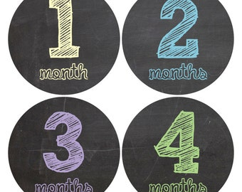 baby month stickers, Monthly Milestone Stickers Baby Sticker Monthly Baby Stickers Baby Month Stickers Arrows Milestone Stickers Photos