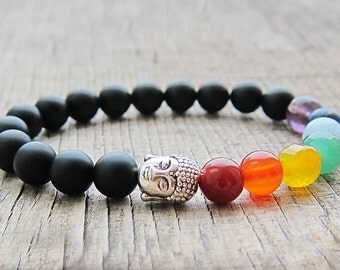 mens buddha bracelet yoga bead bracelets tibetan prayer beads meditation bracelet healing bracelets healing stone jewellery chakra jewellery