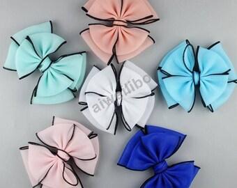 Baby girl hair bow, hair bow, toddler hair bow, Wholesale Bows WH100001