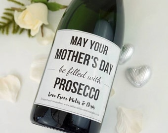Mother's Day Champagne/Prosecco label
