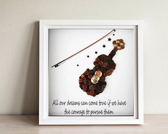 Violin Teacher Gift ~ Violin Player Gift ~ Music Teacher Gift ~ Violin Keepsake ~ Gift for Violinists ~ Violin Lover ~ Unique Violin Gift