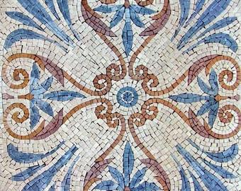 Mosaic Tile Pattern- Spiritual Flower