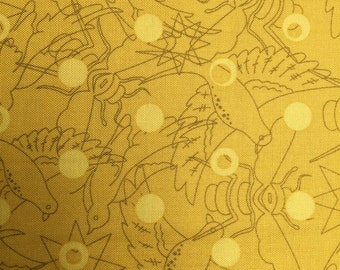 Sunprint 2017 by Alison Glass Yellow for Andover Fabrics