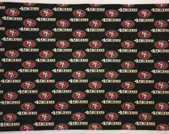1 Set- San Francisco 49ers- Cotton Pillowcases