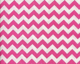 Chevron Zig Zag Pink Fabric