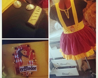 Harry Potter Costume - Inspired by Gryffindor House