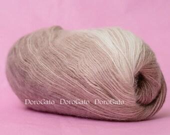 Self striping yarn, Alize Angora Gold Batik, multicolor gradient yarn, wool yarn, mohair, acrylic, knitting yarn, Crochet yarn