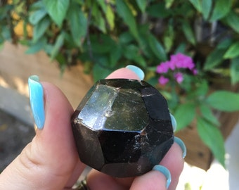 SALE***Large Faceted Garnet Chunk  86g / Love / Loyalty / Commitment / January Birthstone