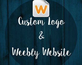 Weebly Website Setup - Custom Logo - Weebly Blog - eCommerce Website - Weebly Shop - Weebly Website – Website Setup - Weebly eCommerce