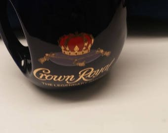 Rare Vintage CROWN ROYAL The Legendary Import Jug/DECANTER