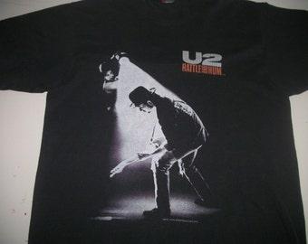 U2 tour shirt 1988 Rattle and Hum