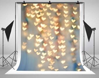 Newborn Baby Photography Backdrops Shine Sweetheart Background for Photo Studio Wedding Background CM-MR-0029