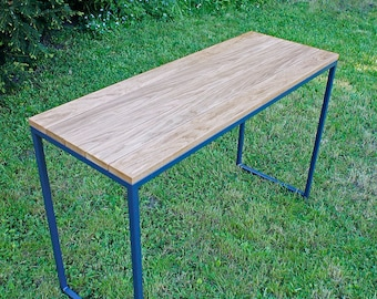 Table, dining table, garden table, Industrial Anthracite