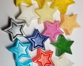 Baby Shower Favors - Twinkle Little Star Party Favor Nursery theme, gender reveal baby shower party favors custom color & scent | Pack of 25