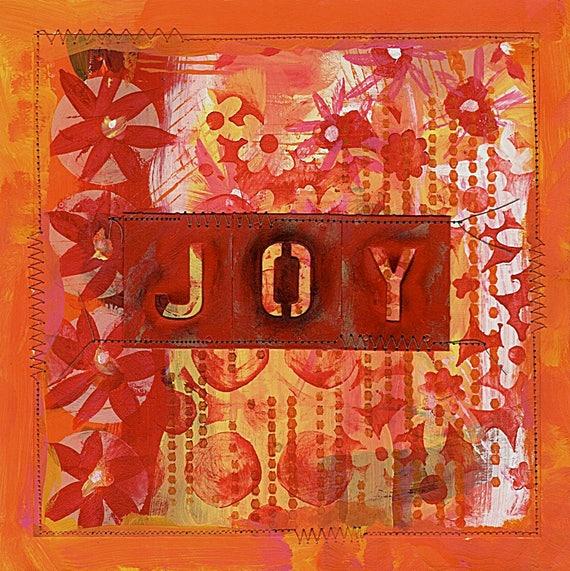 Painting - Choose Joy