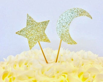 Star Cupcake Toppers/ Twinkle Twinkle cupcake toppers/ Celebration Cupcake Toppers