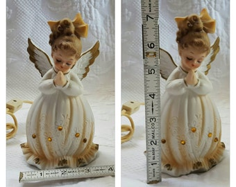 Vintage LEFTON ANGEL night light