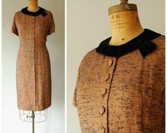 Chesnut Hill dress • 1950s tweed wiggle dress