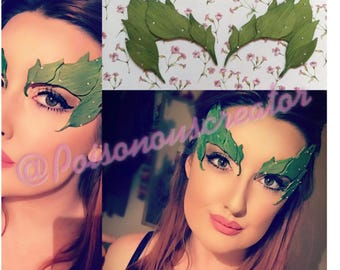 POISON IVY eye mask /Uma Thurman inspired\