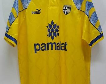 Vintage 1997 Parma Fc football jersey maglia