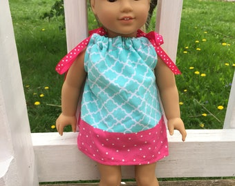 American Girl doll pillowcase dress