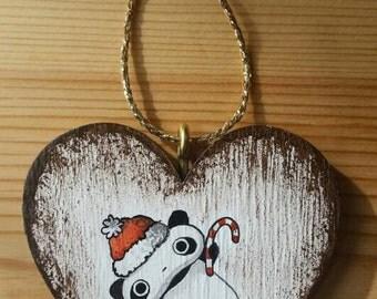 Christmas decoration painting, Tarepanda