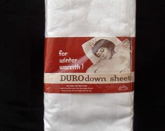 Vintage Duro Down Sheets 90 x 100