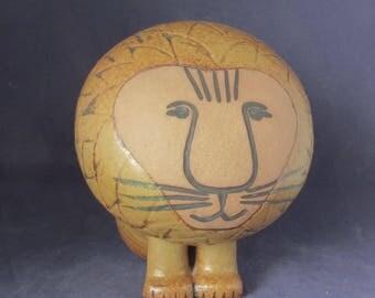 Gustavsberg Sweden, Lisa Larson, Pottery Stoneware Lion