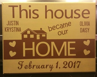 Home Warming Memory Sign Wall Hanging | House Warming Gift | Home Warming Gift