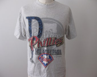 Vintage Philadelphia Phillies 90s t-shirt shirt Adult XL