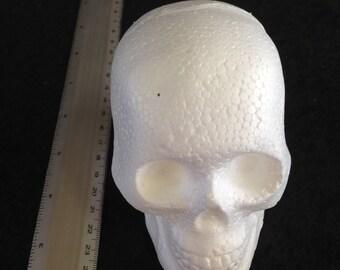 Foam (styrofoam) Skull