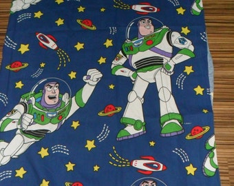 Buzz Lightyear Cotton Fabric