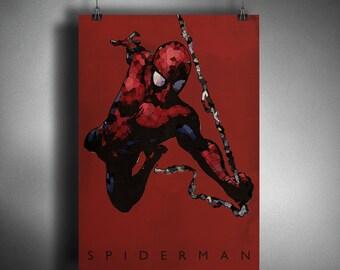 SPIDERMAN - Crystalised Art Style