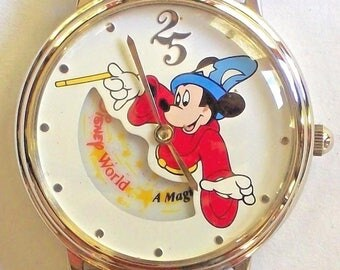 Disney Sorcerer Animated Mickey Mouse Watch!
