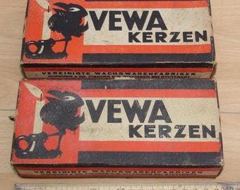 Vewa candles - Ditzingen, Germany Stuttgart 1945