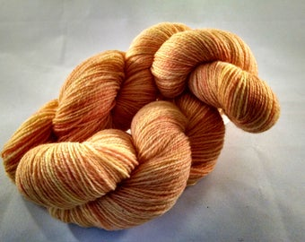 Handspun yarn, sport weight  (#630)