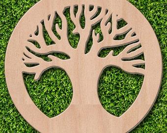 Circle of Life Tree Cutout