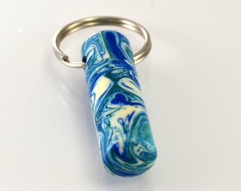 LDS Oil Vial made out of Seattle Seahawks  Blue Green Acrylic