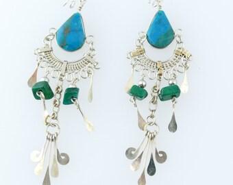 Gypsy Earrings Boho Earrings Bohemian Earrings Tribal Earrings Hippie Earrings Ethnic Earrings Boho Jewelry Gypsy Jewelry