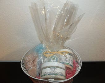 8 Piece Spa Gift Set - Perfect for Mother's Day, Valentine's Day, Birthdays, Bridesmaid Gift. Passionfruit Rose.