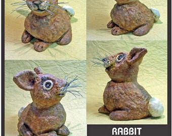 Rabbit Thumbster Sally Blanchard's One-of-a-Kind Tongue-in-Beak Clayworks