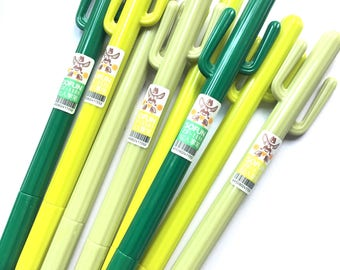 Cactus gel pens