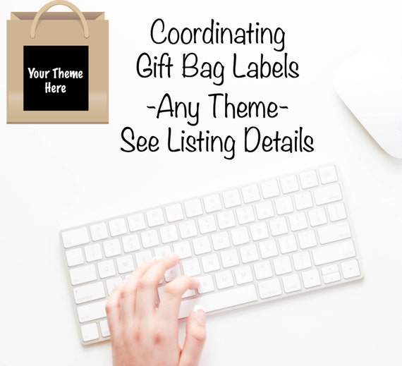 Labels For Wedding Gift Bags : Custom Gift Bag Labels6ctGift Box LabelsStickersWrappers ...