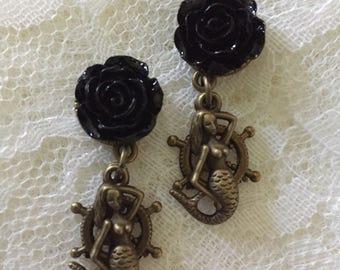 Bronze Mermaid Custom Plugs