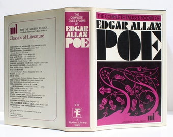 The Complete Tales & Poems of Edgar Allan Poe by Edgar Allan Poe - The Modern Library 1967