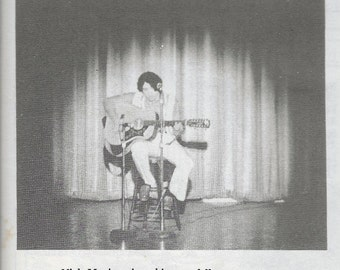 Spring 1971 Solo 12 String Acoustic & Vocal Performance